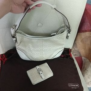 Authentic Mini Coach Bag with Wallet/Card Holder